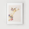 Camel Art | Boho Decor - Pretty in Print Art