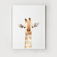 Nursery Giraffe Print - Non-Floral Version - Pretty in Print Art