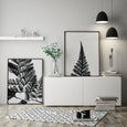 Botanical Fern Prints | Black & White Photography (SET OF TWO) - Pretty in Print Art