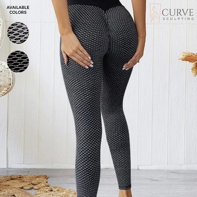 curve sculpting leggings, butt-scrunch leggings, ruched leggings, butt hugging leggings, bum scrunch leggings, black fishnet leggings, Instagram leggings