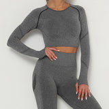 curve sculpting top, Instagram top, purple long sleeve top