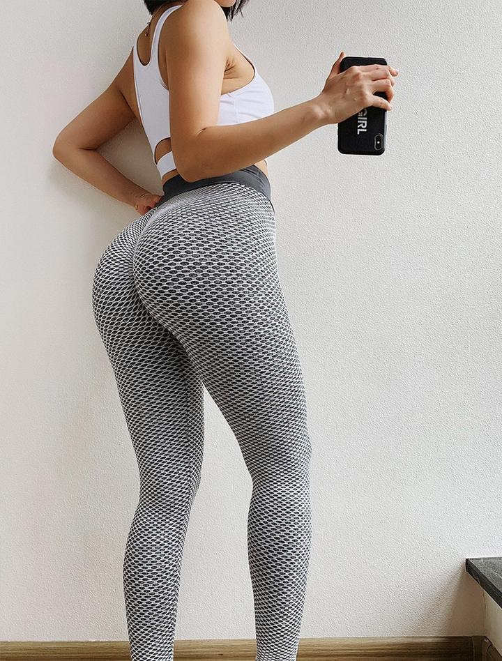 Butt-Sculpting Butt Scrunch Leggings (Grey)