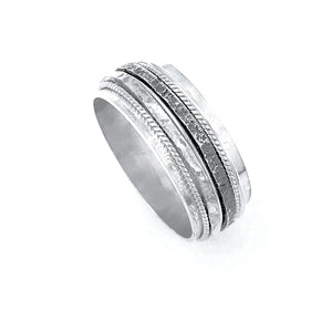 Mens Spinner Ring