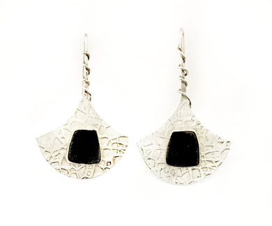 Druze Drop Earrings