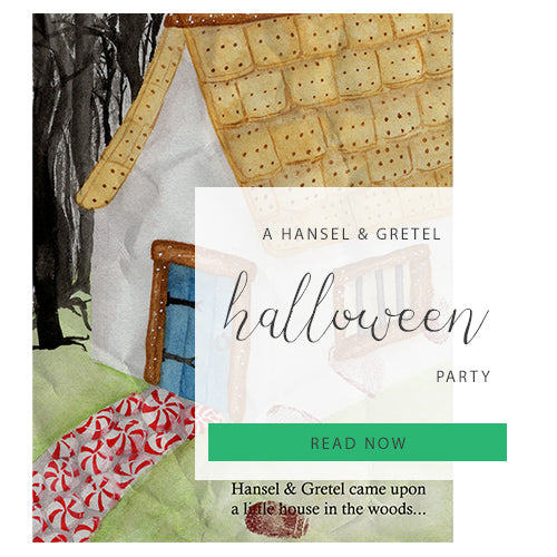 A Haunted Hansel & Gretel Halloween Party