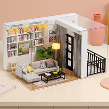 Load image into Gallery viewer, CUTEBEE DIY Doll House with Miniature Furniture Kit