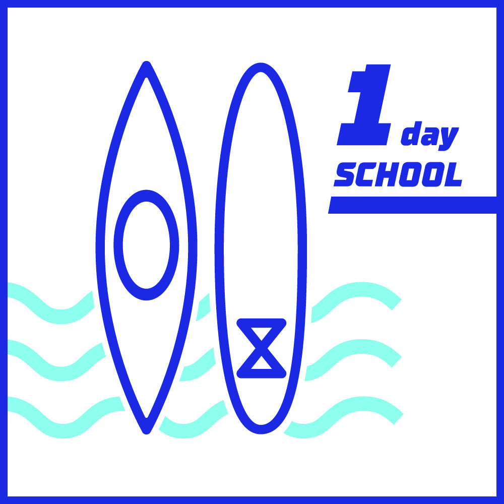 KAYAK & SUP SCHOOL (1 day)