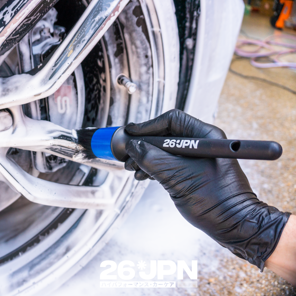 26JPN Detail Brush Wheel Cleaning