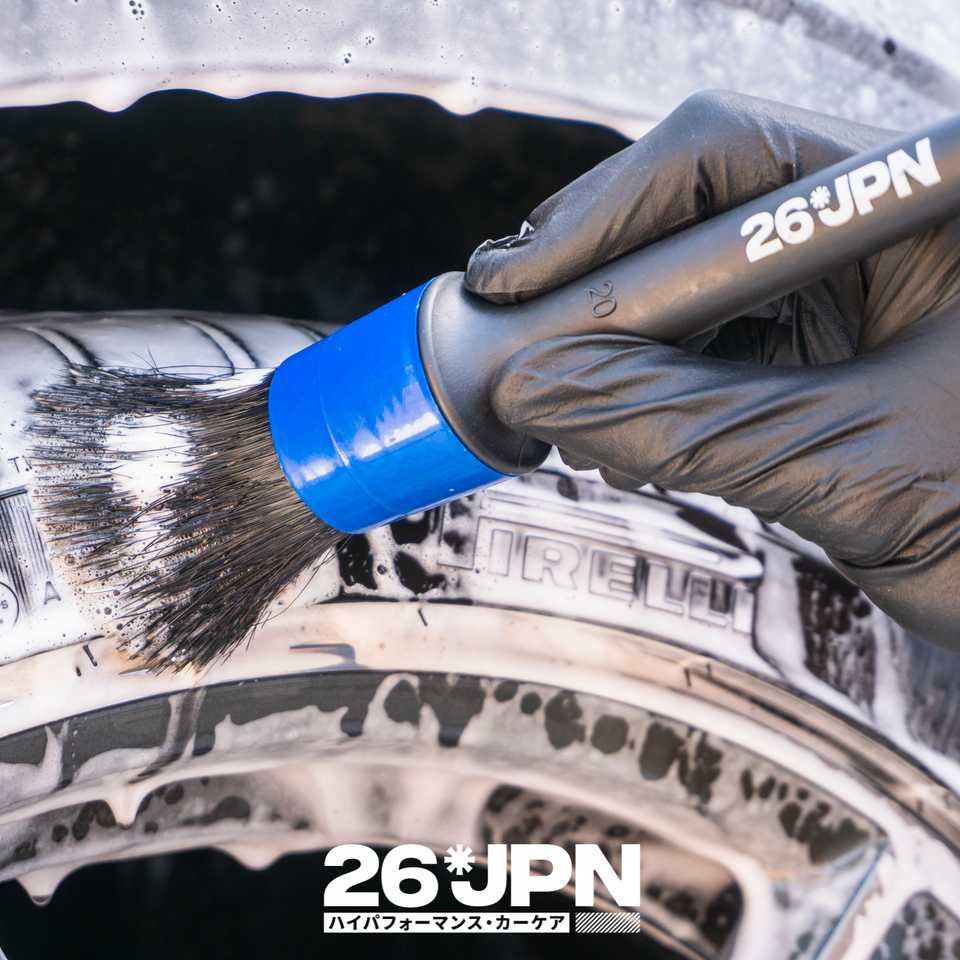 26JPN Detail Brush Tyre Cleaning