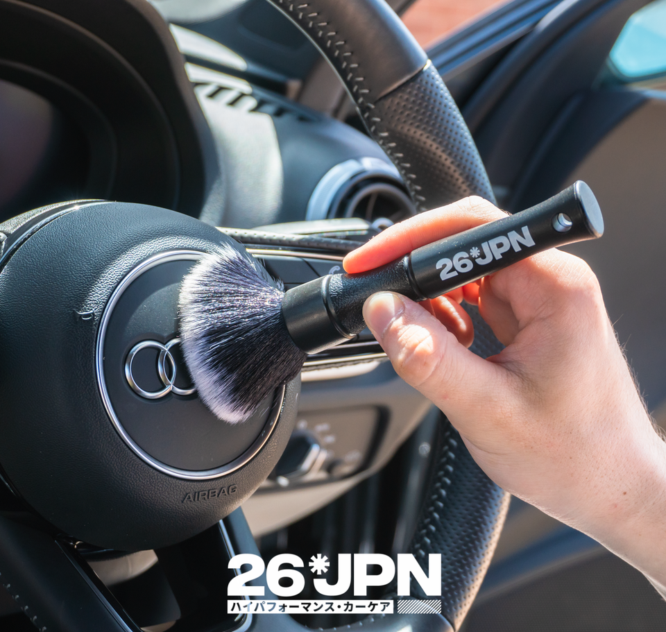26JPN Ultra-Soft Detail Brush Steering Wheel