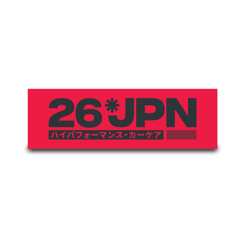 26JPN Window Cling Sticker