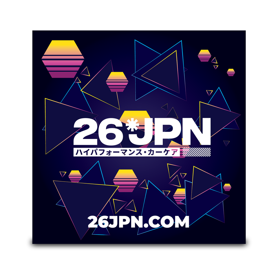 26JPN Synth Sunrise Sticker