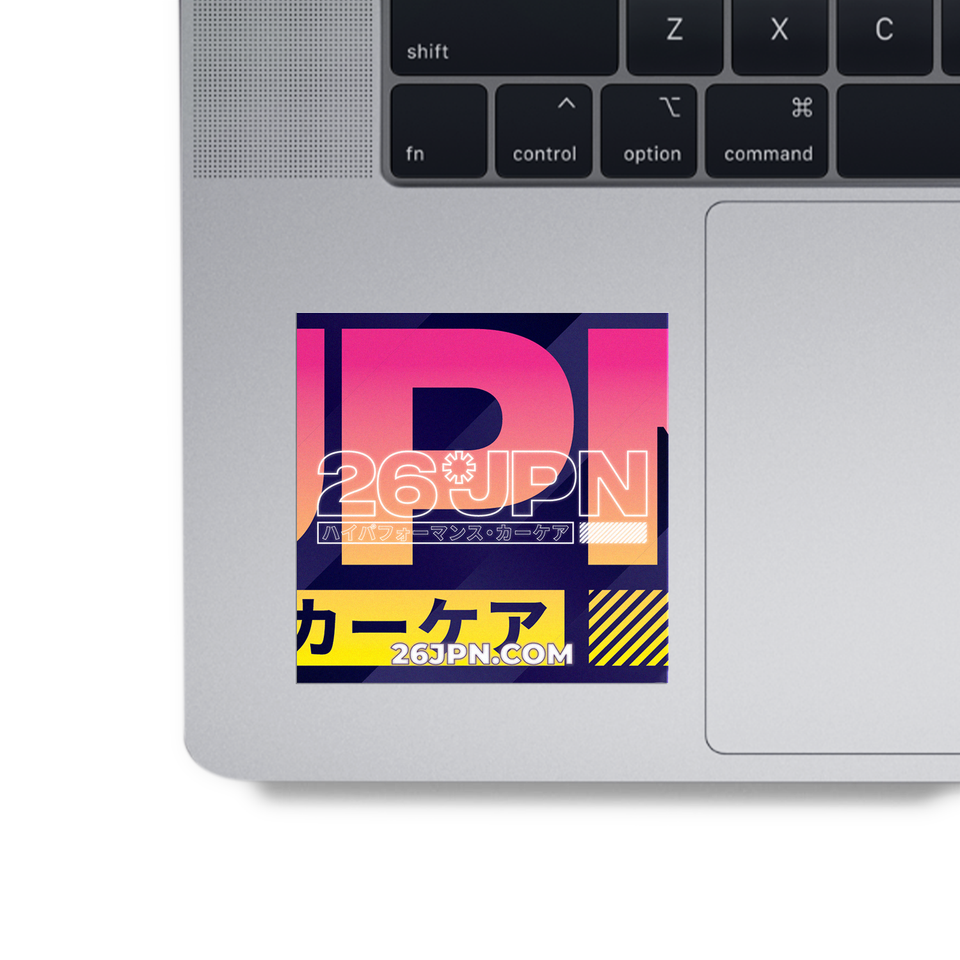 Focus Emblem Sticker on MAC