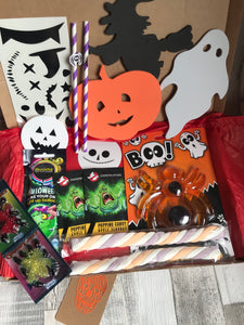 Large Halloween Box (with extra large Jelly Spider)
