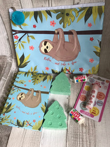 Sloth Themed Gift Box