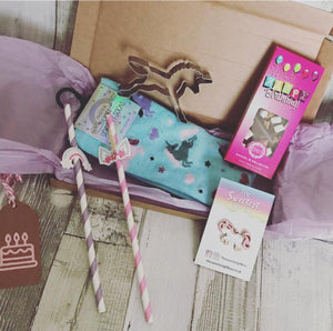 Unicorn Happy Birthday DL Gift Box