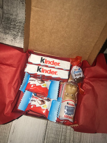 Mini Mix Kinder Chocolate Gift Box