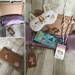 Unicorn Themed Gift Box