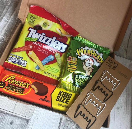 Halloween American Treats Box