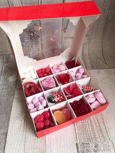 Love Wedding Anniversary Themed Pick & Mix Gift Box