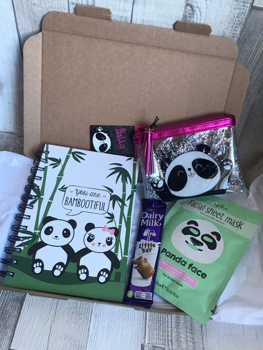 Panda Themed Gift Box
