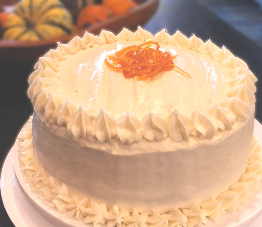 Sweet Potato Cake with Cream Cheese Icing