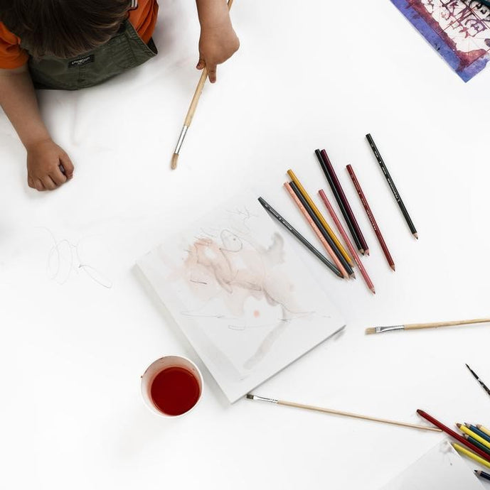 How to encourage creativity in your child.