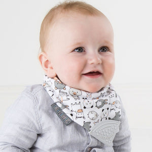 Cheeky Chompers Neckerchew Organic Muslin Teething Bub Australia stockist