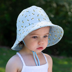 Bedhead Toddler Bucket Hat Bees Print
