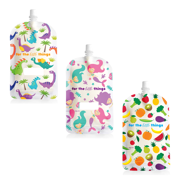 Sinchies Reusable Top Spout 200ml Pouches sold by Berowra Bubs