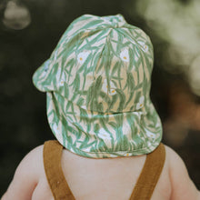Load image into Gallery viewer, Bedhead Hats Heritage Collection Baby Flap Eucalyptus