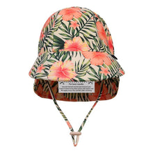 Load image into Gallery viewer, Bedhead Hats Legionnaire Beach Hat Hibiscus