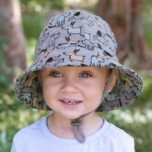 Load image into Gallery viewer, Bedhead boys toddler bucket hat Dogs