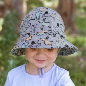 Bedhead boys toddler bucket hat Dogs
