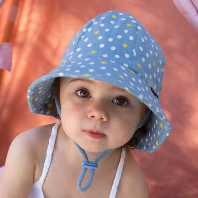 Bedhead Hats Toddler Bucket Hat in Spots