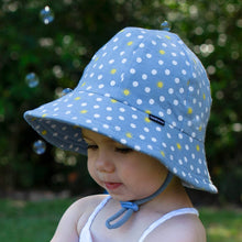 Load image into Gallery viewer, bedhead hats toddler bucket hat spots