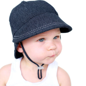 Bedhead Hats Legionnaire Denim Baby Hat Toddler Hat