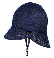 Load image into Gallery viewer, Bedhead Hats Legionnaire Denim Baby Hat Toddler Hat