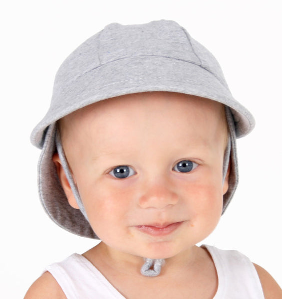 Bedhead Hats Legionnaire Grey Marle Baby Hat Toddler Hat