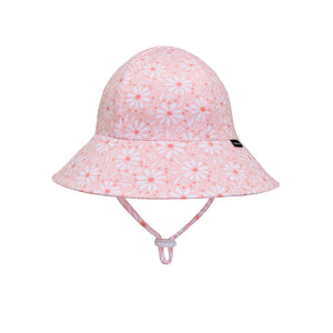 Bedhead Hats Girls Ponytail Bucket Hat in Daisy front view