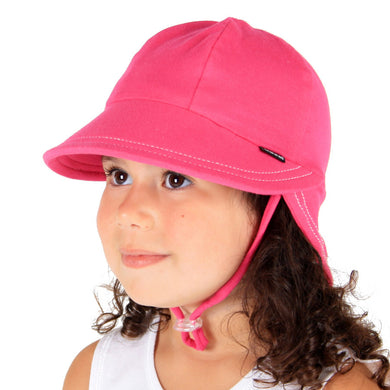 Bedhead Hats Legionnaire Bright Pink Baby Hat Toddler Hat