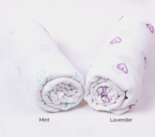 Load image into Gallery viewer, Newborn Wrap Bamboo Cotton Blend Muslin Octoprem