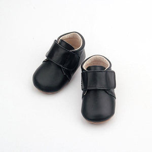 Leather Baby Shoe Black