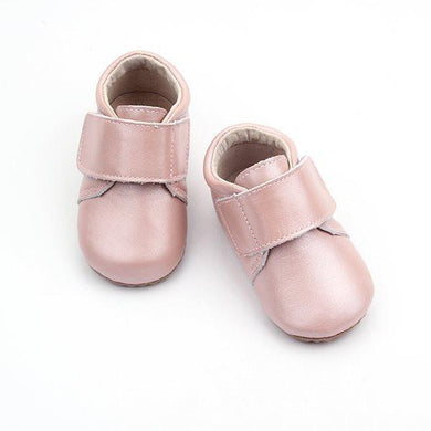 Leather Baby Shoe Pink