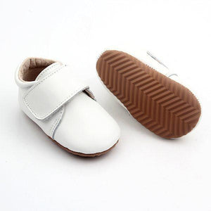 Leather Baby Shoe White