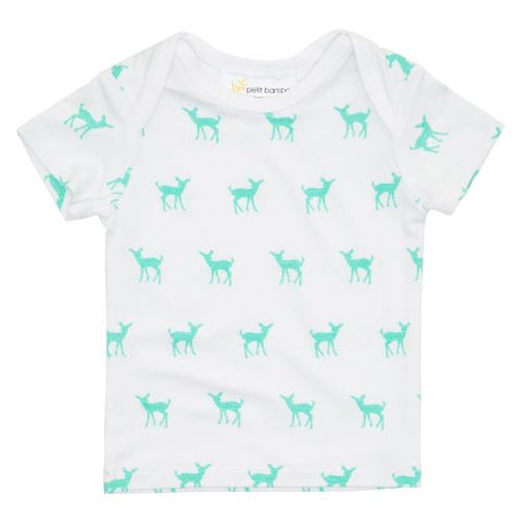 Bamboo Short Sleeve Top - Deer Green