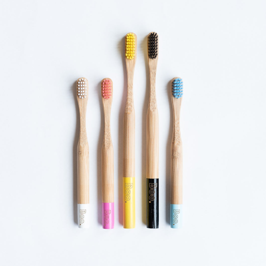 Bamboo Toothbrush The Boo Collective Adult Child