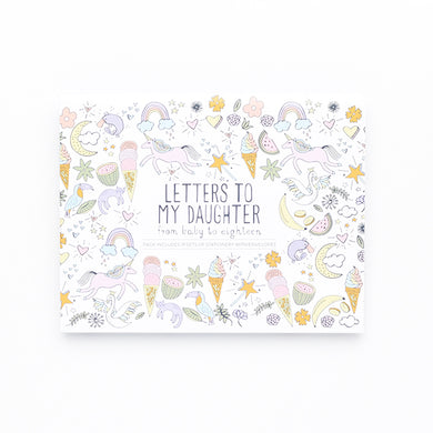 Letters to My Daughter Letter Set Baby Shower Gift Two Little Ducklings Australia