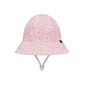 Bedhead girls toddler bucket hat in pink daisy
