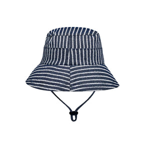 Bedhead kids bucket hat in Rope sold by Gumnut Kids back view